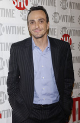 """Actor Hank Azaria arrives for premiere of Showtime's """"Huff"""" in Los Angeles."""