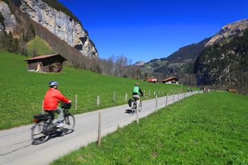Lauterbrunnen Valley, Switzerland, Europe