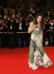 """Actress Michelle Yeoh arrives for gala screening of  """"Death Proof"""" at the 60th Cannes Film Festival"""
