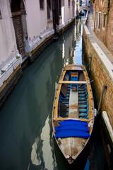 Boat in pier, venice