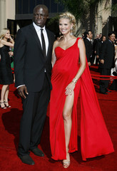 File photo shows model Heidi Klum arriving with her husband Seal at 58th annual Primetime Emmy Awards in Los Angeles