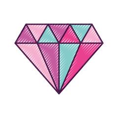 elegant diamond isolated icon vector illustration design