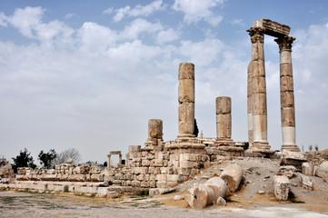 Jordan Amman the citadel