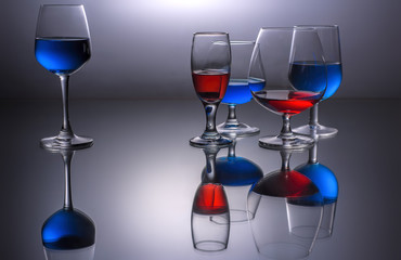 Various Wine Glasses