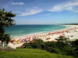 Praia Grande beach in Arraial do Cabo Rio de Janeiro summer Wall mural