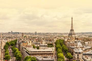 Champs elysees Avenue view, Paris, France