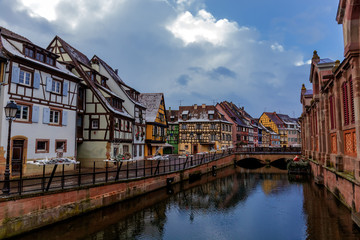 Channel of Colmar France
