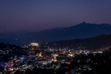 Kandy at night