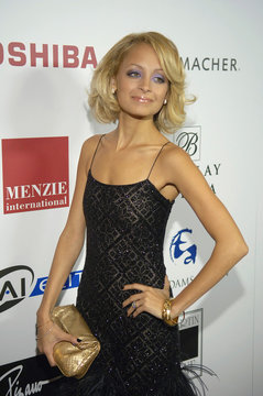 Nicole Richie arrives at the second annual Hollywood Style Awards in California