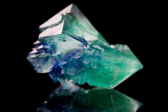green crystal mineral