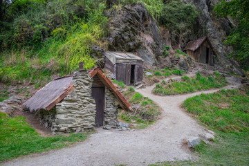 Arrowtown Chinese Settlement. It's tribute to the contribution made by the Chinese goldminers and business people to the region's goldmining of New Zealand