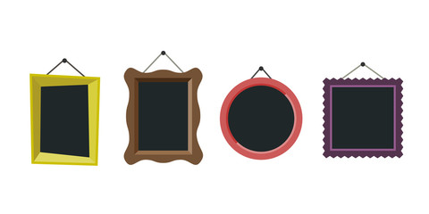 Frames flat icon