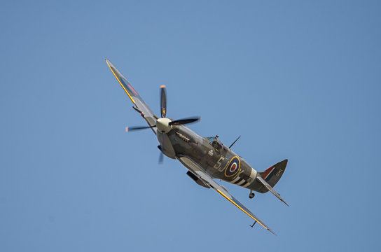 spitfire in the skies