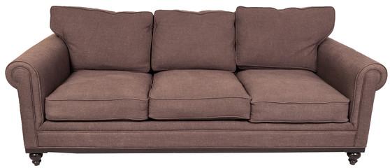 brown contemporary sofa