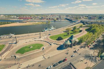 Szczecin / panorama miasta