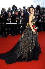 Italian actress Monica Bellucci arrives for screening of 'Marie Antoinette' at the 59th Cannes Film Festival