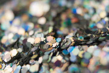 background of many small sequins