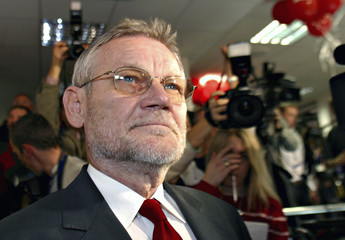File photot of Croatia's former prime minister and main opposition leader Ivica Racan
