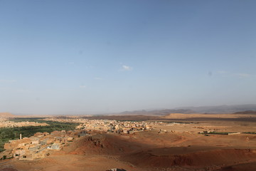 View over souteastMorocco