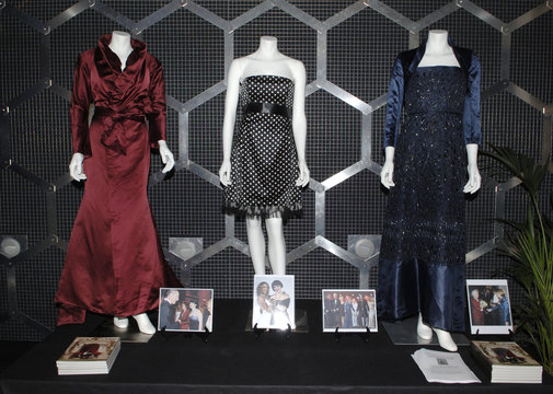 Items from the Osbourne Collection auction are displayed in London