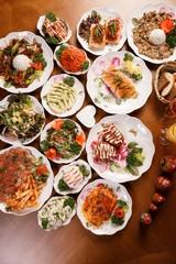 Various russian food