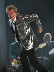Rod Stewart performs at the 4th annual Plymouth Jazz Festival