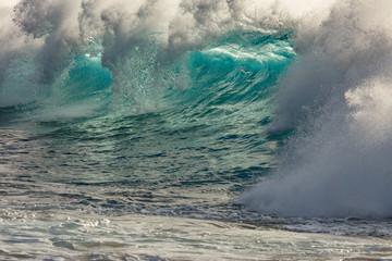 Big Green Wave splash