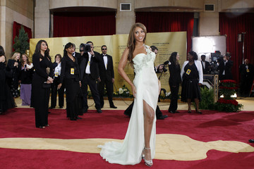Performer Beyonce Knowles arrives at the 79th Annual Academy Awards in Hollywood