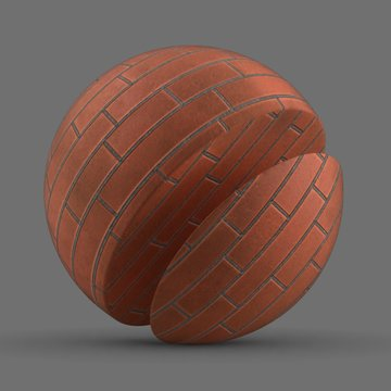 Bricks Combined Tangerine
