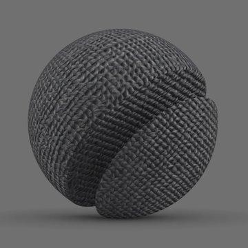 Fabric Carpet Grey