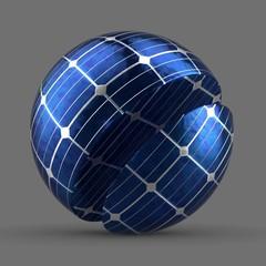Grid Solar Panel Tiled