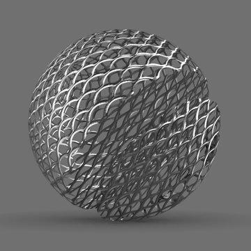 Metal Grid Expanded