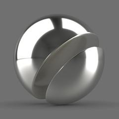 Silver Glossy