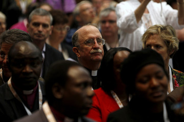 Members of the Anglican Communion attend the Global Anglican Conference in Jerusalem