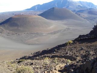 Volcanic moonscape