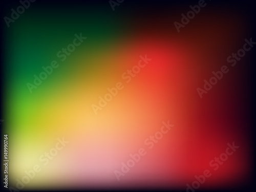Gradient Wallpaper Or Background With Green Yellow Pink Orange