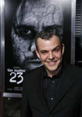 Actor Danny Huston poses for photographers during the premiere of ''The Number 23'' in Los Angeles