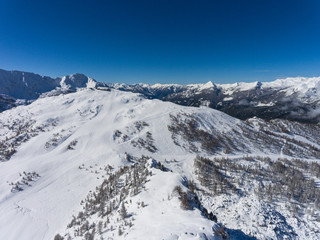 Ski resort - Aerial view (Valtellina)