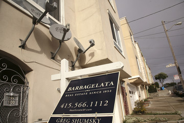 A home is put up for sale in San Francisco