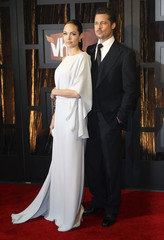Actors Jolie and Pitt arrive at the 14th annual Critics' Choice awards in Santa Monica