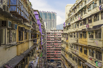 Downtown of Hong Kong