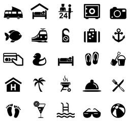 Icons Summer und Travel
