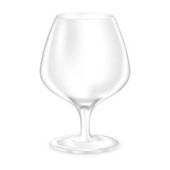 Brandy glass - empty snifter