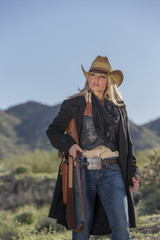 Blonde Cowgirl