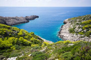 Coast of Zakynthos island during the summer, Greece