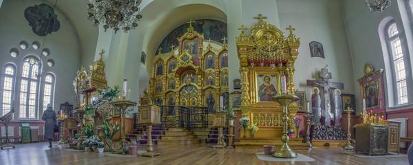 Wall Mural - Riga Lettland Kirche orthodoxe Innen