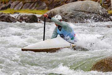 Fototapete - canoa sprint