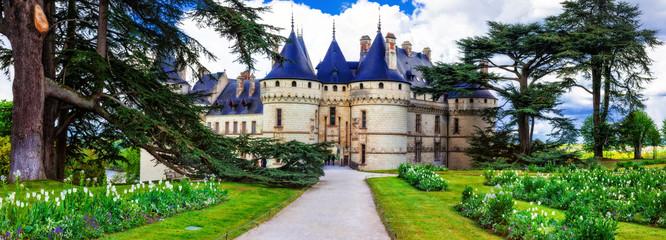 Fotobehang Kasteel Most beautiful castles of Europe - Chaumont-sur-Loire, Loire valley, France