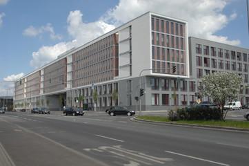 neues Justizzentrum in Hessens Landeshauptstadt Wiesbaden