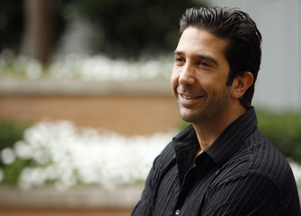 David Schwimmer poses during the 32nd Toronto International Film Festival